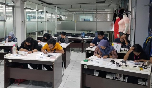 GSDCost trainees giving theory examinations to qualify as practitioners