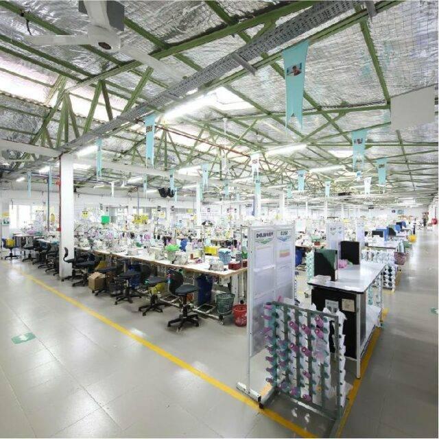 Hidaramani服装厂的宽屏照片