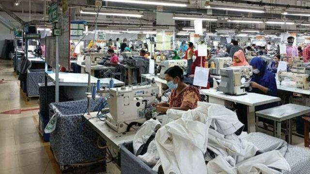 孟加拉国Paddock's Jeans服装生产基地