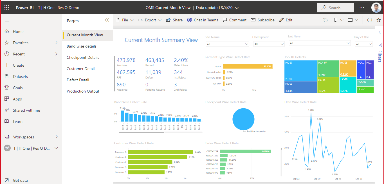Screenshot of Res.Q QMS Quality Management solution