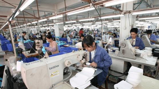 WinPro Handbag Ltd production floor in China