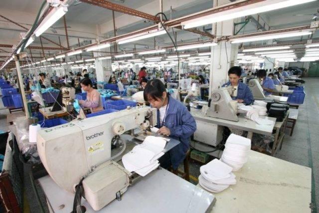 WinPro Handbag Sewing Floor in China