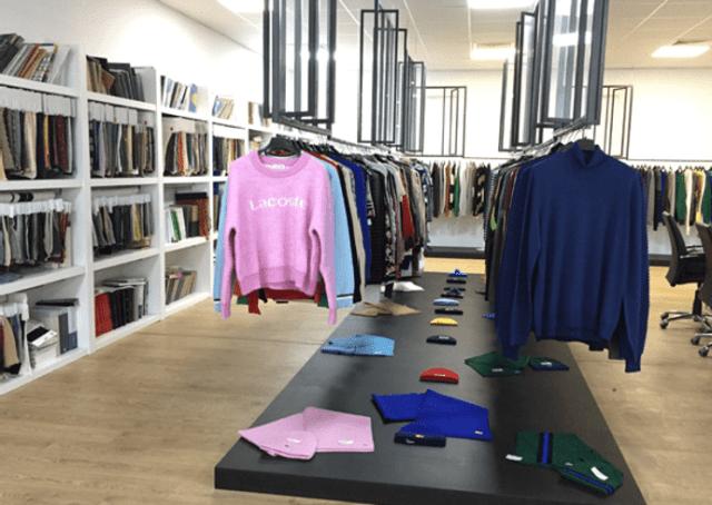 Tunicotex apparel showroom