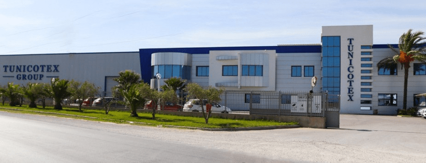 Tunicotex garment manufacturing facility in Tunisia